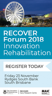 Recover Forum 2018