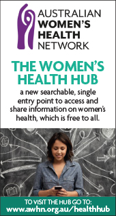 Womens Health hub web banner